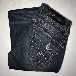 Rock Revival Chrissie Distressed Jeans 26 35